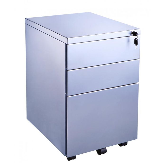 Metal Mobile Pedestals Under Desk Filing Cabinet